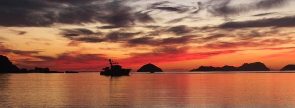 Mahunepua beach sunrise