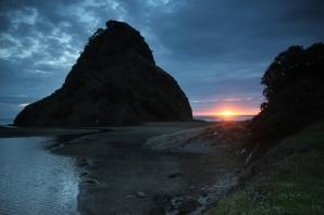Sunset at Piha