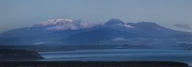New Zealand 2014_5734 Mt Ruapehu and Ngauruhoe panorama