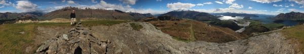 360 degree view from Rocky Mountain
