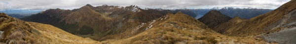 New Zealand 2014_10428 Kepler Mountains panorama